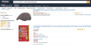 amazon typical search irrelevant results